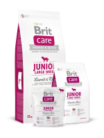 BRIT CARE JUNIOR LARGE warianty wagowe